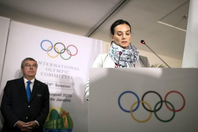 Electa Yelena Iseinbayeva miembro del Comité Olímpico Internacional