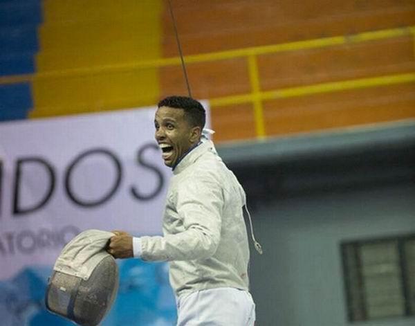 El sablista Yoandry Iriarte se convirtió en el único cubano clasificado para el torneo de esgrima de los Juegos Olímpicos de Río de Janeiro en el verano próximo