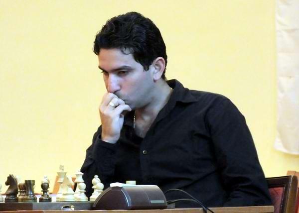 GM Yuniesky Quesada Pérez, se ubica como el tercer ajedrecista cubano. Foto: Abel Rojas.