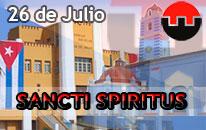 26 de Julio en Sancti Spíritus