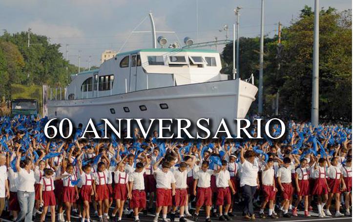 Aniversario 60 del desembarco del yate Granma