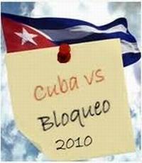 Cuba contra el bloqueo 2010