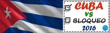 Cuba vs Bloqueo - 2016