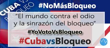 Cuba vs Bloqueo 2018