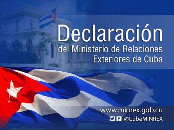 Cuba condena la criminal agresión israelí contra el pueblo palestino