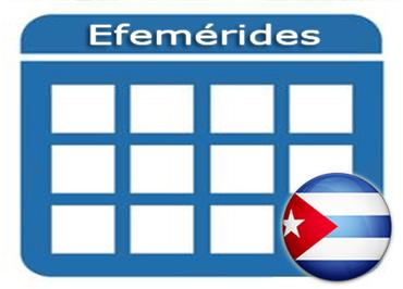 Efemérides - Cuba