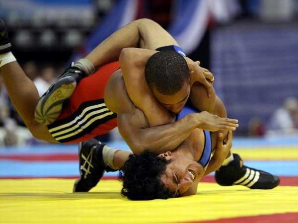Competir�n luchadores cubanos en Copa del Mundo de Los �ngeles