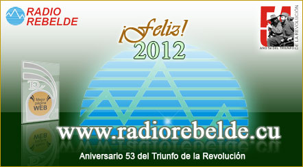 Postal Radio Rebelde 2012