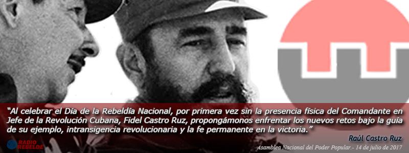 Fidel Castro Ruz. 26 de julio