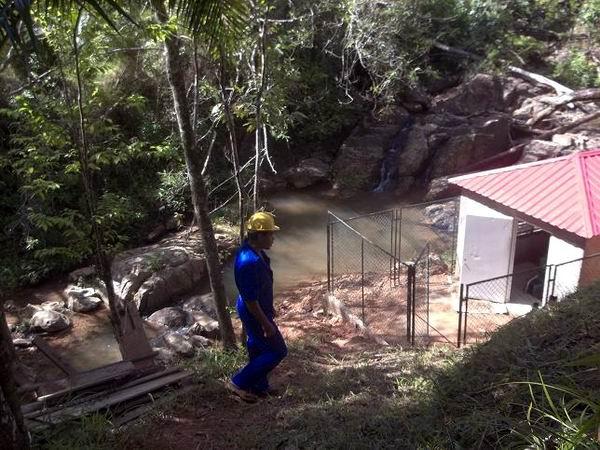 Mini hidroeléctrica en Rancho Alegre, Holguín. Foto: Aroldo García