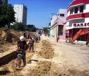 En etapa final obras del acueducto de Santiago de Cuba