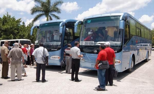 Aumentan capacidades de transportación nacional en ómnibus para fin e inicio de año