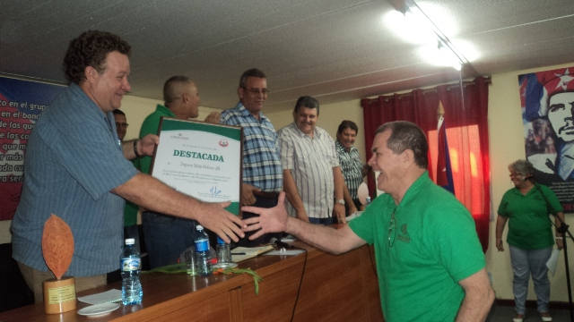 Favorables resultados en producción tabacalera en Cuba