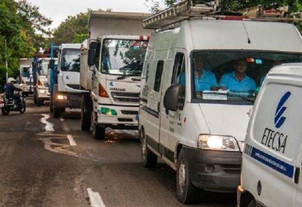 Contingente de Cienfuegos recupera telefonía en Cárdenas y Varadero