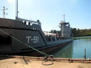 Entregó Cuba último buque carguero a Armada venezolana.