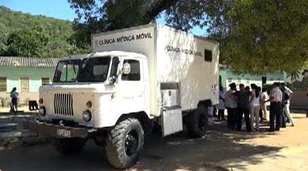 Colaboración Cuba-Japón beneficia a pobladores santiagueros, clínica móvll