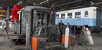 Nuevos equipos ferroviarios hacia El Mariel