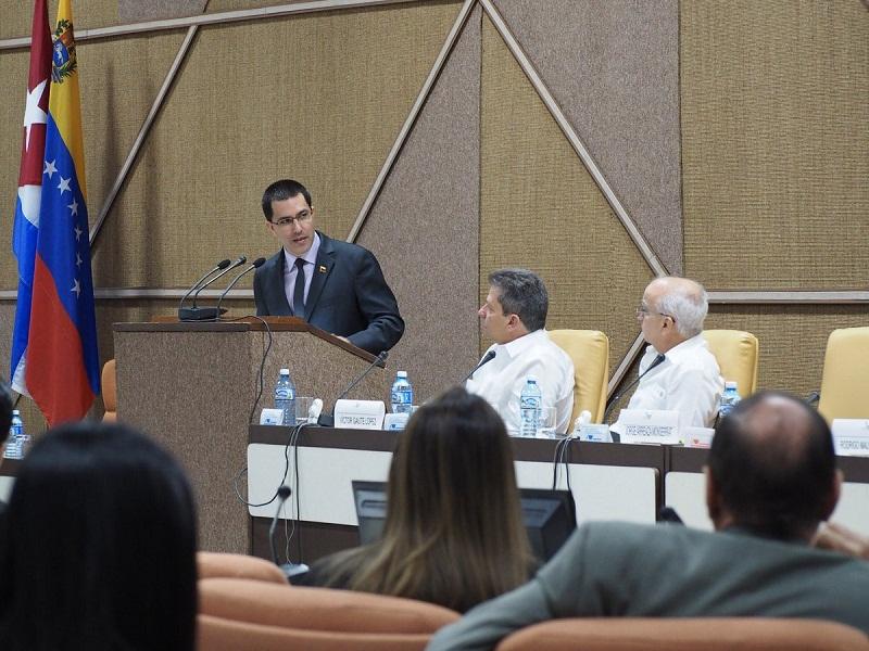 Rubrican Cuba y Venezuela acta final de reunión de Comisión Intergubernamental