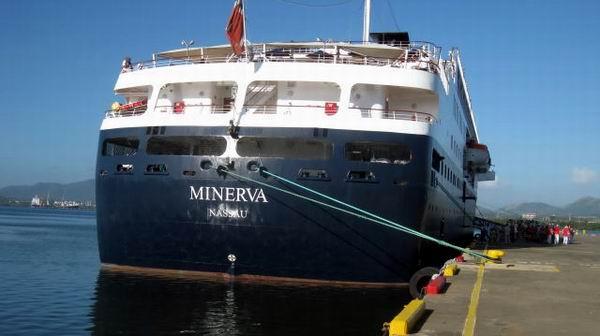 Viajes Cubanacán y Ecotur son algunos de los turoperadores que acogen a los diferentes Cruceros que tocarán puerto santiaguero. Foto: Sergio Martínez