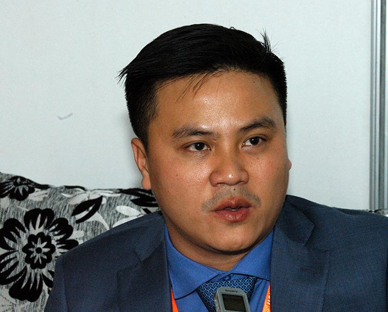 Vicepresidente de la empresa vietnamita Thai Binh, Señor Tran Ngoc Thuan. Foto: Sergei Montalvo