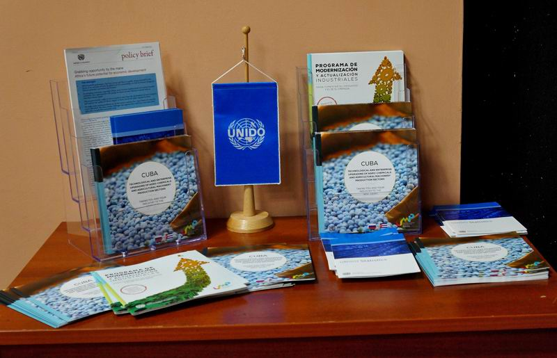 Cuba y la ONUDI firman acuerdos para desarrollo industrial