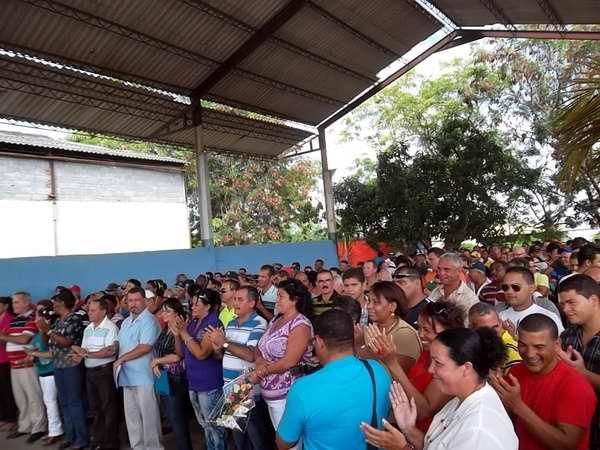 Aniversario 51 de los Recursos Hidráulicos e Las Tunas. Foto Olivares