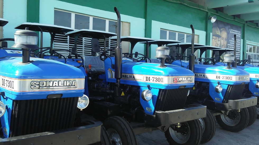 Donation from India to Benefit Agricultural Production in Cuba