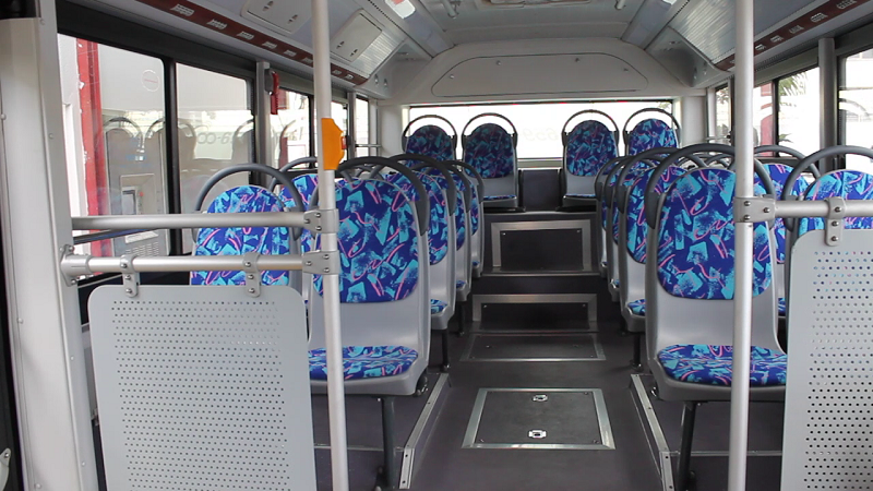 E12, primer ómnibus ecológico en Cuba. Fotos Alejandro Rojas