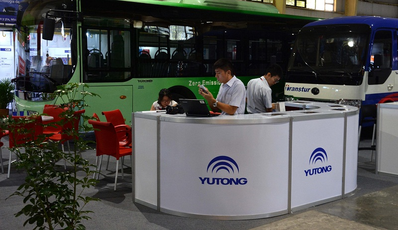 China Yutong Company in Cuban Market