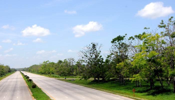 Restablecido tránsito por la Autopista Nacional