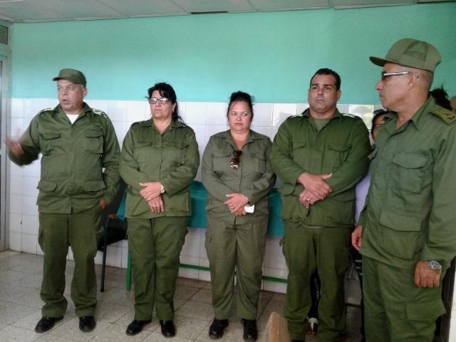 Cienfuegos protege la ciudad y sus recursos en ejercicio de la defensa