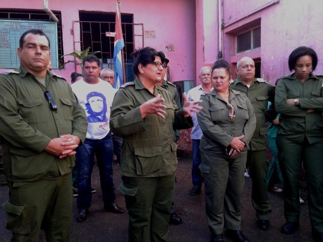 Cienfuegos protege la ciudad en ejercicio de la defensa
