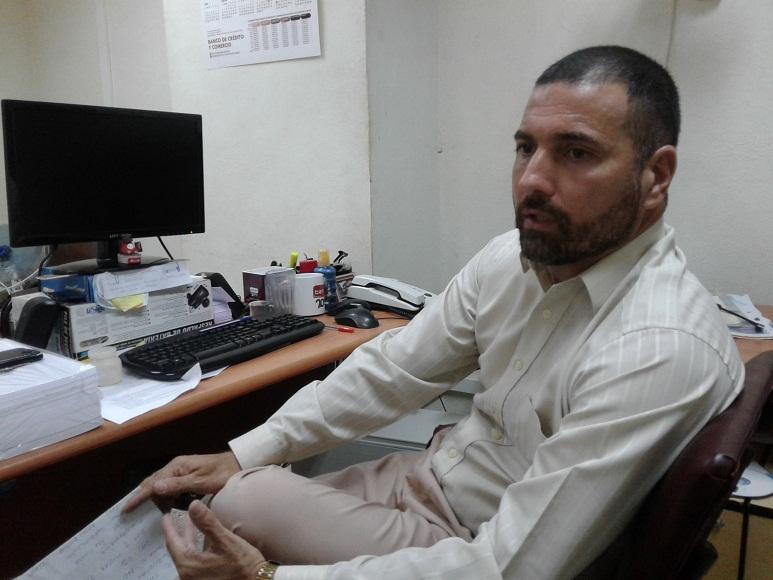 Rodolfo León Jiménez, comunicador institucional Bandec Las Tunas