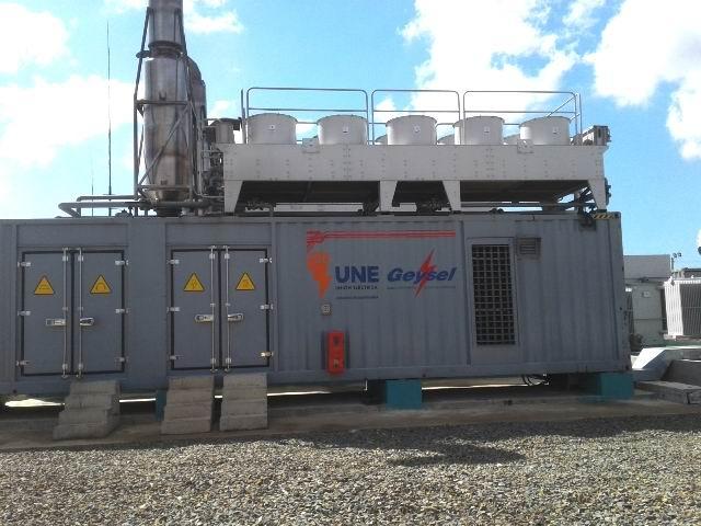 Dispondrá de 40 motores generadores mediante Diesel.