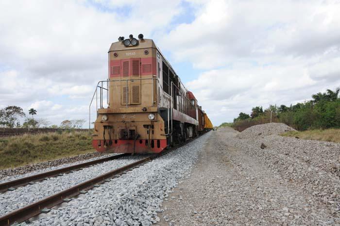 Por un ferrocarril más eficiente en Cuba (+Audio, Fotos y Video)