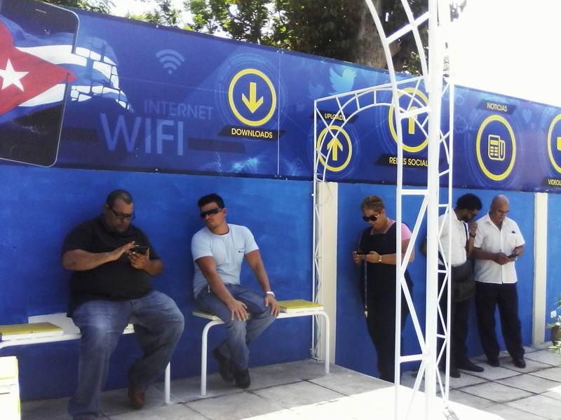 Parque wifi San José de las Lajas