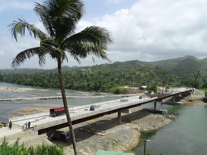 Puente sobre el río Toa a las puertas de la ciudad de Baracoa