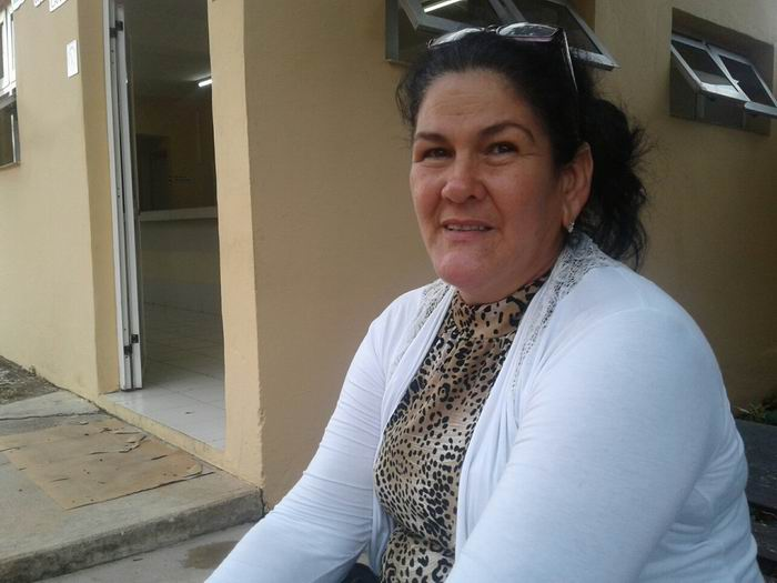 presidenta de la Asamblea Municipal del Poder Popular Sofía de la Caridad Macareño Fraga