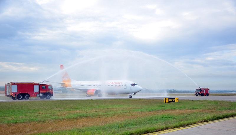 Inauguró aerolínea haitiana vuelos desde Santo Domingo a La Habana
