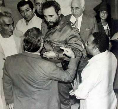 Fidel Castro en Cienfuegos