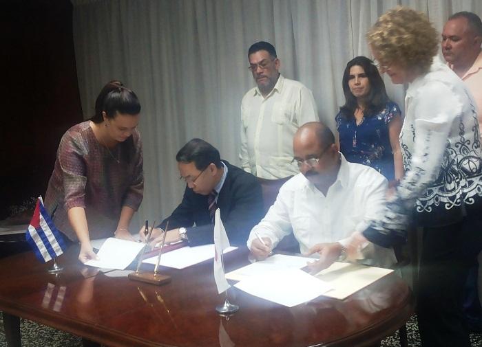 Rubrican gobierno de La Habana y JICA acuerdo para el trabajo de higienización