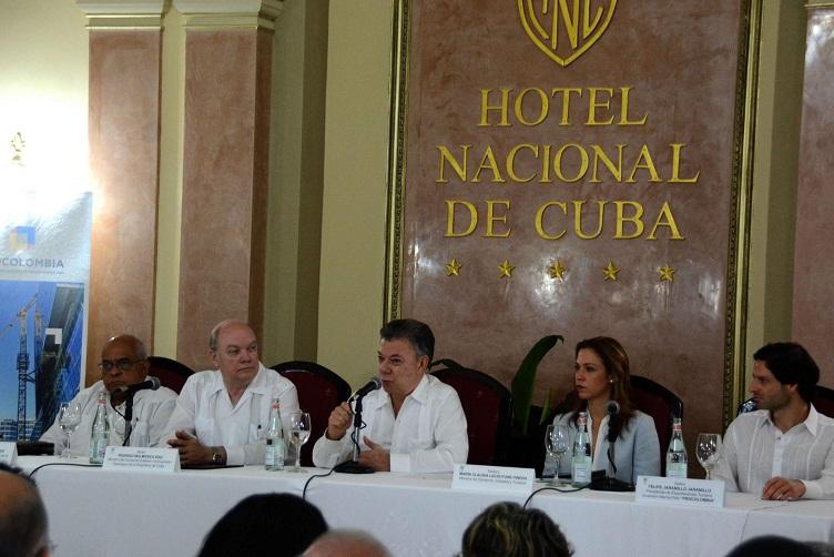 Cuba y Colombia fortalecen relaciones económicas y comerciales (+Audio y Video)
