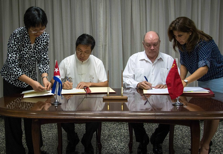 Cuba and China strengthen economic and trade relations