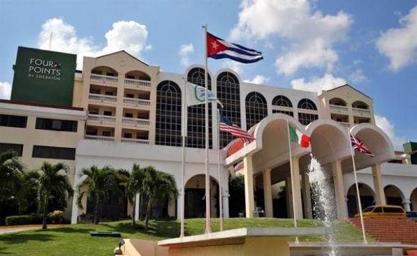 Primer hotel Four Points by Sheraton administrado por una cadena norteamericana, abrió oficialmente sus puertas en La Habana, luego de más cinco décadas