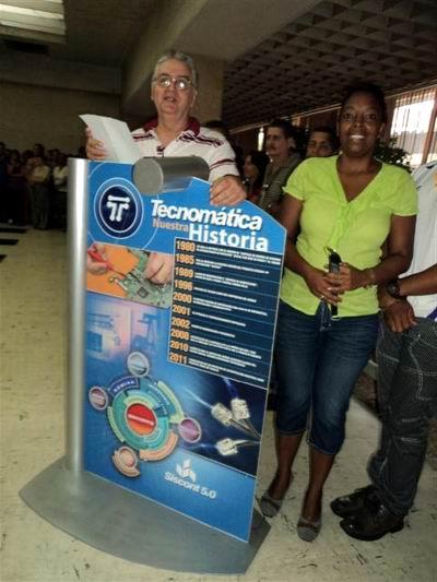 La informaci�n en el centro del accionar productivo de Cuba Petr�leo