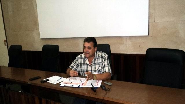 Director técnico de la Unión Nacional Eléctrica, ingeniero Lázaro Guerra. Foto: Cabrera Peinado