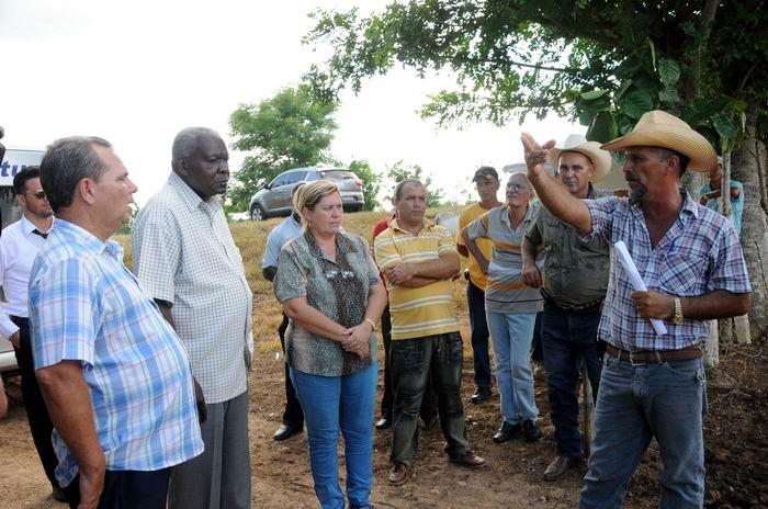 Reconoce Esteban Lazo logros en la rama agroalimentaria en Sancti Sp�ritus