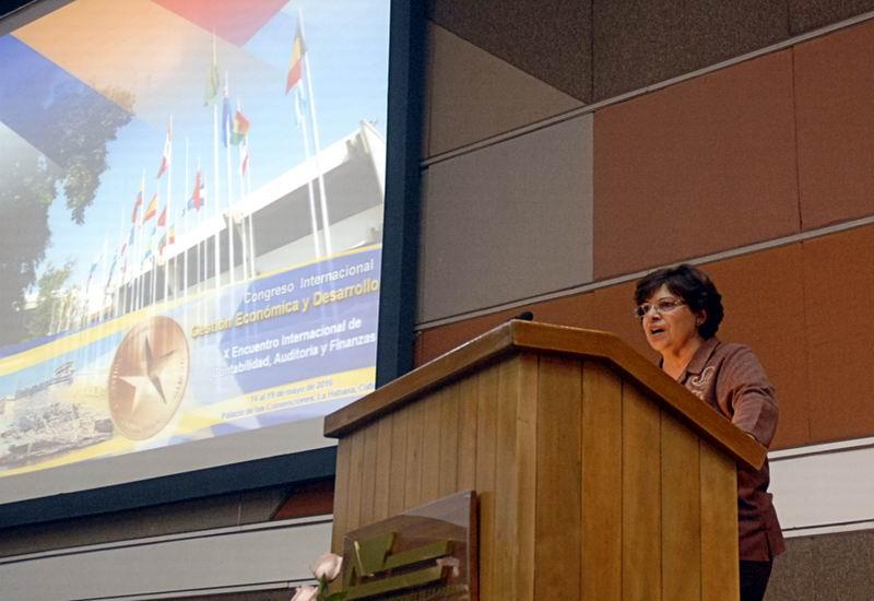 Concluye II Congreso Internacional sobre Gesti�n Econ�mica y Desarrollo