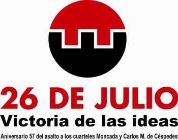 26 de julio-Victoria de las Ideas-Cuba