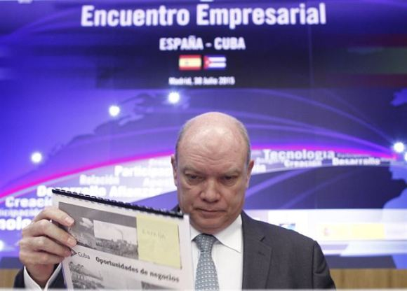 Presenta Rodrigo Malmierca en Espa�a posibilidades de inversi�n en Cuba
